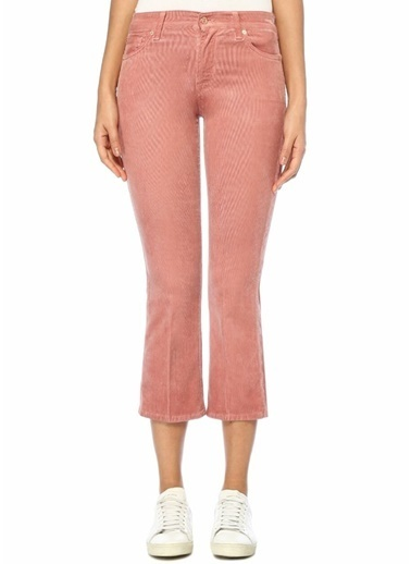7 For All Mankind Pantolon Pembe